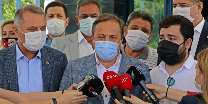CHP Genel Merkezi'nden Muhittin Böcek Çıkartması