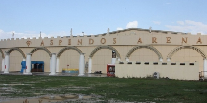 Aspendos Arena Gösteri Merkezi mühürlendi