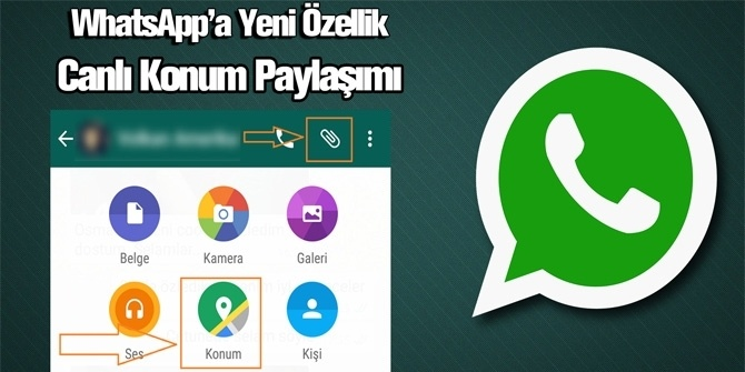 Whatsapp'ın Yeni 'Konum' Özelliği