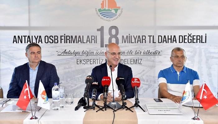Antalya OSB'den Expertiz Zaferi: