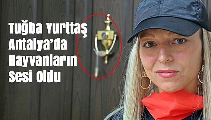 Tuğba Yurttaş Antalya'da Hayvanların Sesi Oldu