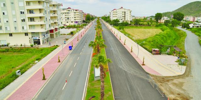 Gazipaşa'da Altyapı ve Deniz Yolu Tamam