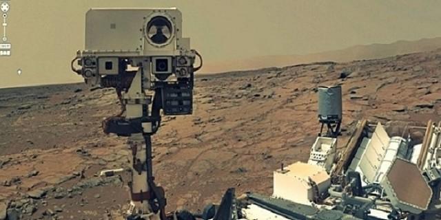 Bir Selfie'de Mars'tan