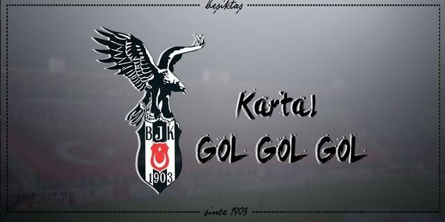 """Eskişehir Stadı """"Kartal Gol"""" Tezahüratıyla İnledi"""