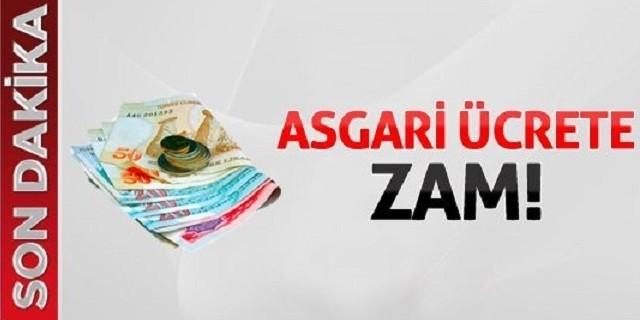 Asgari Ücrete Zam