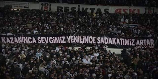Beşiktaş Taraftarının Vefası