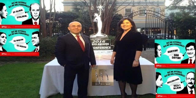 Ka.Der Türkiye'ye ABD'den 3 Ödül