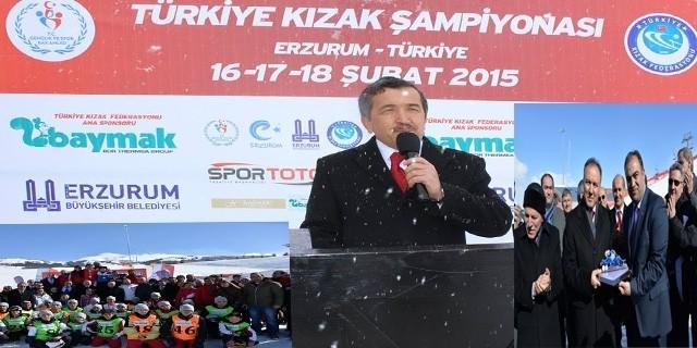 Erzurum Kızak Şampiyonası Sona Erdi