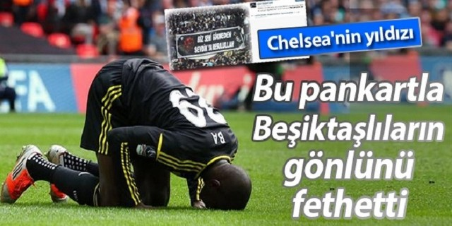 Beşiktaş & Demba Ba Flörtü