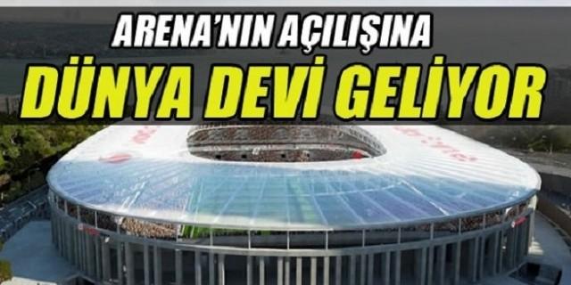 Beşiktaş Arena'nın İlk Misafiri Barcelona