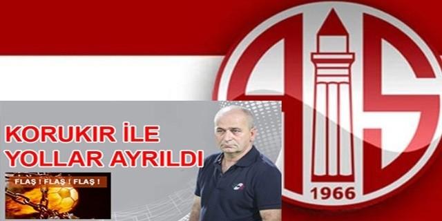Antalyaspor Faturayı Teknik Direktöre Kesti